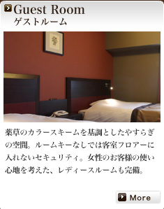 Guest Room ゲストルーム